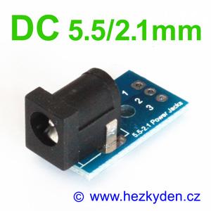 Adapter DC napájecí konektor