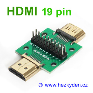 Adapter HDMI 19pin PROFI