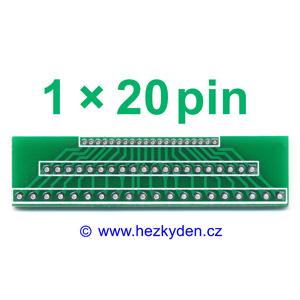Adapter Jumper 1.27-2.00-2.54-mm 1x20pin