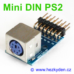 Adapter Mini-DIN PS2