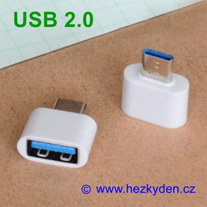 Adapter redukce OTG USB 2.0 typ C