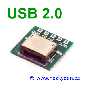 Adapter/redukce USB 2.0 typ C