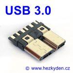 Adapter USB 3.0 micro typ B konektor