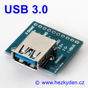 Adapter/redukce USB 3.0 typ A zásuvka