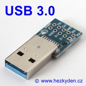 Adapter/redukce USB 3.0 typ A konektor