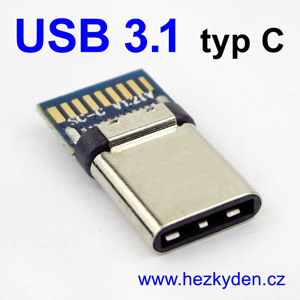 Adapter USB 3.1 typ C konektor