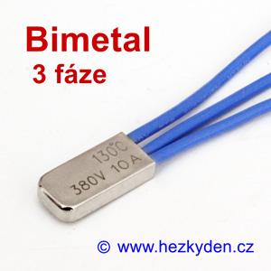 3fázový bimetalový teplotní spínač
