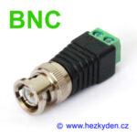 BNC konektor svorkovnice