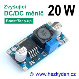 DC-DC měnič CN6009 zvyšující 20W