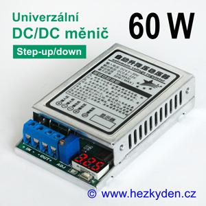 Výkonový DC/DC měnič DVM5139 univerzální s voltmetrem