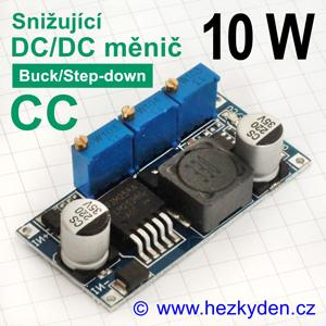 DC/DC měnIč LM2596CC snižující 10 watt nabíječka
