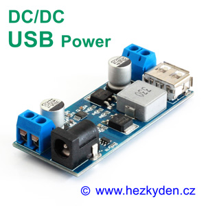 DC-DC měnič USB Power