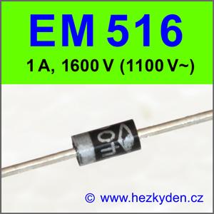 dioda EM516