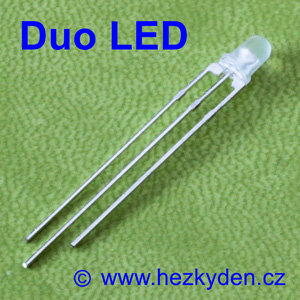 Duo LED 3 mm