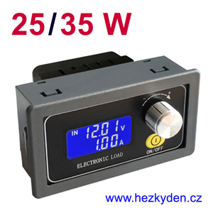 Elektronická zátěž DPZ 25W 35W