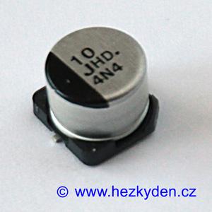 Elektrolyt 10µ 63V SMD