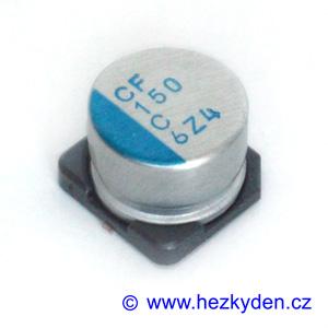 Elektrolyt 150µ 16V SMD