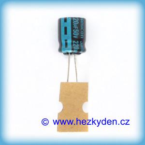 Elektrolyt 220u 50V