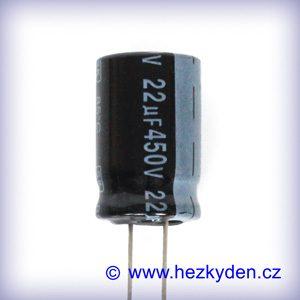 Elektrolyt 22µ 450V