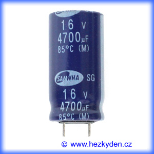 Elektrolyt 4700µ 16V