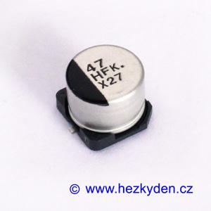Elektrolyt 47µ 50V SMD