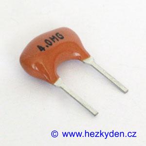 Keramický rezonátor 4 MHz