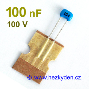 Keramický kondenzátor 100nF 100V