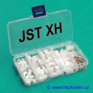 Konektory JST XH sada