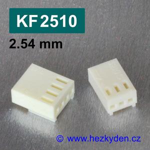 Konektory KF2510 krimpovací na kabel