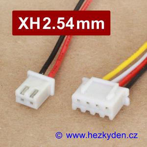 Konektory XH2.54mm s kabelem