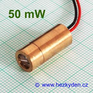 Laserová LED dioda 50 mW