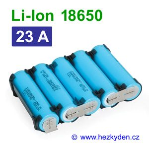 Li-Ion baterie 18650 Samsung 1500mAh INR18650-15M 5pack