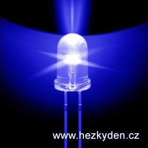Modrá LED dioda 5mm