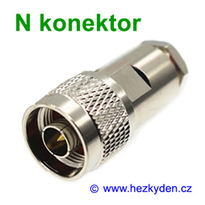 N konektor na kabel