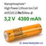Nanofosfátová baterie akumulátor A123 AHR32113