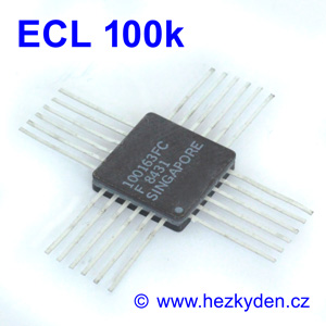 Obvody ECL 100k - pouzdro Quad-Cerpak-24