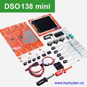 Osciloskop DSO138 mini STAVEBNICE