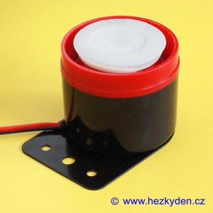 Piezo siréna 105dB 12V standard