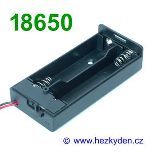 Pouzdro na baterie 18650 Box