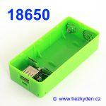 Powerbanka pro 2x baterii 18650