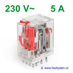 Relé R4 Relpol - 230 V AC