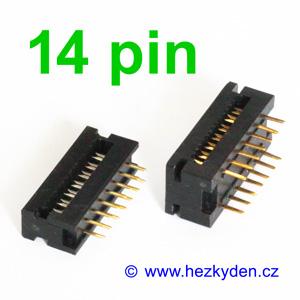 Samořezný konektor 14pin do DPS