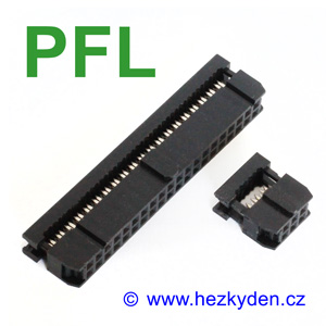 Samořezný konektor na plochý kabel PFL