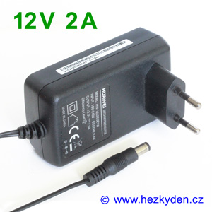 Spínaný zdroj adapter 12V 2A 2000mA