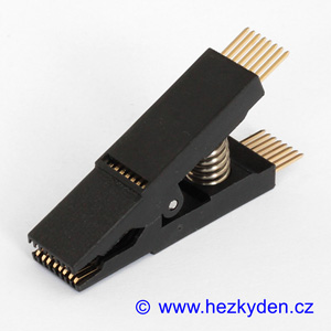 Test clip 16-pin SMD