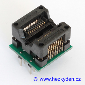 Test Socket SMD 20-pin DPS