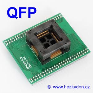 Test Socket SMD QFP 100-pin DPS