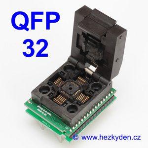 Test Socket SMD QFP 32 pin