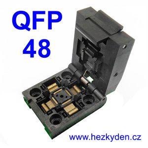 Test Socket SMD QFP 48 pin