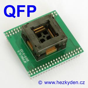 Test Socket SMD QFP 80-pin DPS